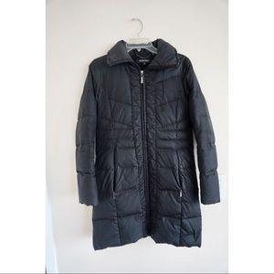 bbf39b5719e8 Ellen Tracy Down Feather Black Winter Coat